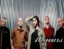 10 years band: