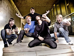 Photo of blessthefall