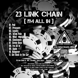 "23 Link Chain - ""I'm All In"" CD cover image - Click to read review"