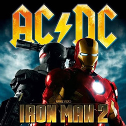 "AC/DC - ""Iron Man 2"" CD cover image"