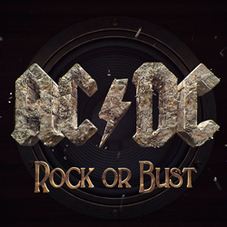 "AC/DC - ""Rock Or Bust"" CD cover image - Click to read review"
