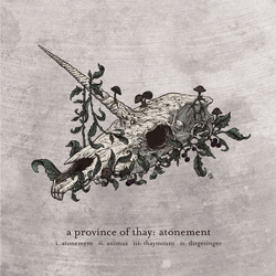 "A Province Of Thay - ""Atonement"" CD cover image"