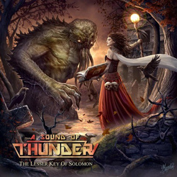"A Sound Of Thunder - ""The Lesser Key Of Solomon"" CD cover image - Click to read review"