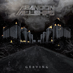 "Abandon All Ships - ""Geeving"" CD cover image"
