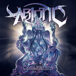 "Abiotic - ""Casuistry"" CD cover image - Click to read review"