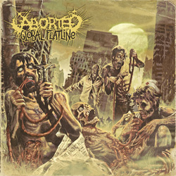 "Aborted - ""Global Flatline"" CD cover image"
