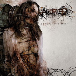 "Aborted - ""Strychnine.213"" CD cover image"