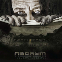 "Aborym - ""Psychogrotesque"" CD cover image - Click to read review"