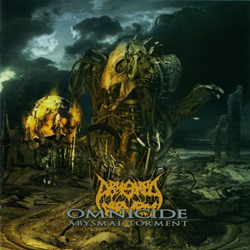 "Abysmal Torment - ""Omnicide"" CD cover image - Click to read review"