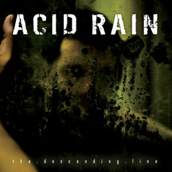 "Acid Rain - ""The Descending Line"" CD cover image"