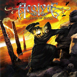 "Acolyte - ""Oceans Of Blood"" CD cover image - Click to read review"