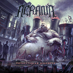 "Acrania - ""Totalitarian Dystopia"" CD cover image - Click to read review"