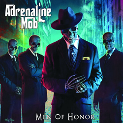 "Adrenaline Mob - ""Men Of Honor"" CD cover image"