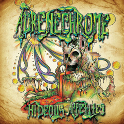 "Adrenechrome - ""Hideous Appetites"" CD/EP cover image - Click to read review"