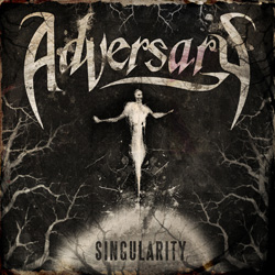 "Adversary - ""Singularity"" CD cover image - Click to read review"