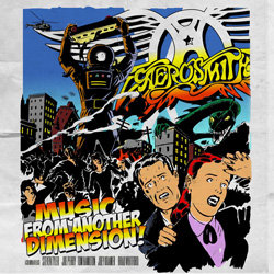"Aerosmith - ""Music From Another Dimension!"" CD cover image - Click to read review"