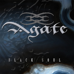 "Agate - ""Black Soul"" CD cover image - Click to read review"