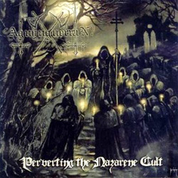 "Aguynguerran - ""Perverting The Nazarene Cult"" CD cover image - Click to read review"