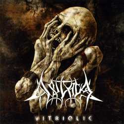 "Akrival - ""Vitriolic"" CD cover image - Click to read review"