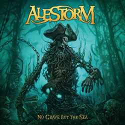 "Alestorm - ""No Grave But The Sea"" CD cover image - Click to read review"