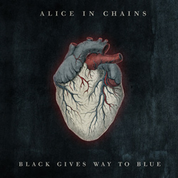 "Alice In Chains - ""Black Gives Way To Blue"" CD cover image - Click to read review"