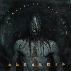 "Alkaloid - ""The Malkuth Grimoire"" CD cover image"