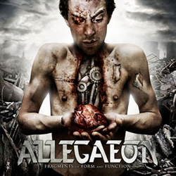 "Allegaeon - ""Fragments of Form and Function"" CD cover image"