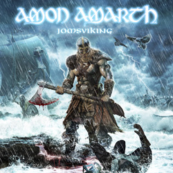"Amon Amarth - ""Jomsviking"" CD cover image"