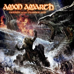 "Amon Amarth - ""Twilight of the Thunder God"" CD cover image - Click to read review"