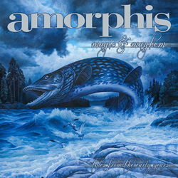 "Amorphis - ""Magic & Mayhem - Tales From The Early Years "" CD cover image"