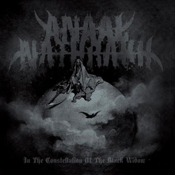 "Anaal Nathrakh - ""In The Constellation Of The Black Widow"" CD cover image - Click to read review"