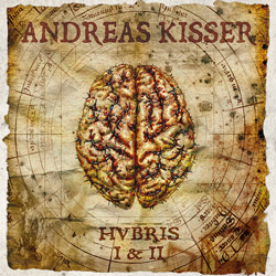 "Andreas Kisser - ""Hubris I & II"" CD cover image - Click to read review"
