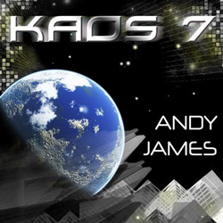 "Andy James - ""Kaos 7"" CD/EP cover image"