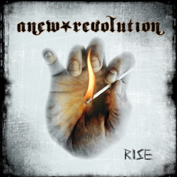 "Anew Revolution - ""Rise"" CD cover image - Click to read review"