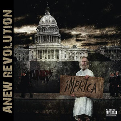 "Anew Revolution - ""iMerica"" CD cover image - Click to read review"