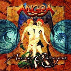"Angra - ""Aurora Consurgens"" CD cover image - Click to read review"