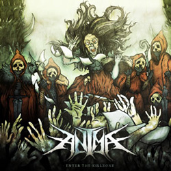 "Anima - ""Enter The Killzone"" CD cover image - Click to read review"