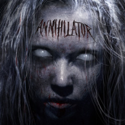 "Annihilator - ""Annihilator"" CD cover image - Click to read review"