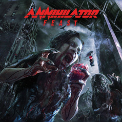 "Annihilator - ""Feast (Deluxe Digipak)"" 2-CD Set cover image"