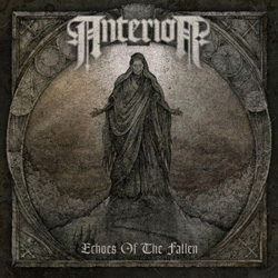 "Anterior - ""Echoes Of The Fallen"" CD cover image - Click to read review"