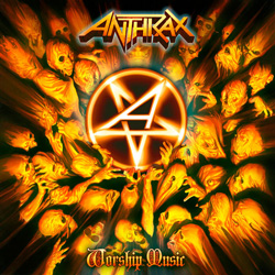 "Anthrax - ""Worship Music"" CD cover image"