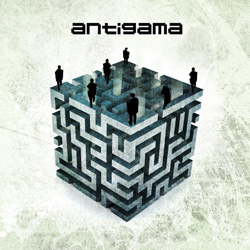 "Antigama - ""Warning"" CD cover image"