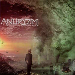 "Anuryzm - ""Worm's Eye View"" CD cover image"
