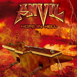 "Anvil - ""Hope In Hell"" CD cover image - Click to read review"