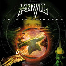 "Anvil - ""This is Thirteen (reissue)"" CD cover image - Click to read review"