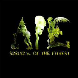 "Ape - ""Survival Of The Fittest"" CD cover image - Click to read review"