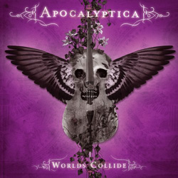 "Apocalyptica - ""Worlds Collide"" CD cover image"