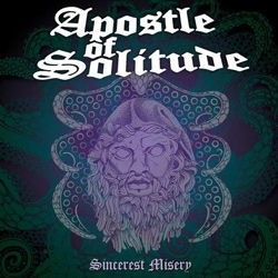 "Apostle of Solitude - ""Sincerest Misery"" CD cover image"