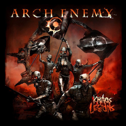 "Arch Enemy - ""Khaos Legions"" CD cover image"