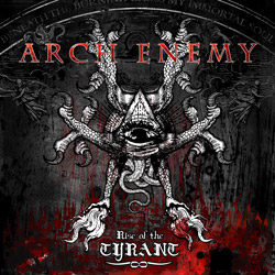 "Arch Enemy - ""Rise of the Tyrant"" CD cover image"